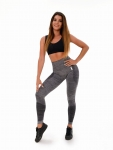 BOCO Legginsy Grey Melange Push Up Shape