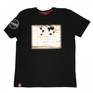 Alpha Indusrties T-shirt Lunar Plaque (128513)