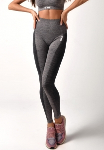 BOCO Legginsy Grey Melange Line Pusch Up