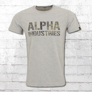 Alpha Industries T-shirt CAMO PRINT T (156513)